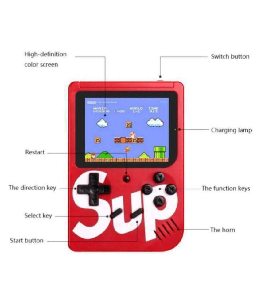 EMBOLO Android 8 GB Handheld Console ( 400 in1 Retro Game Box Super Mario ,Contra )