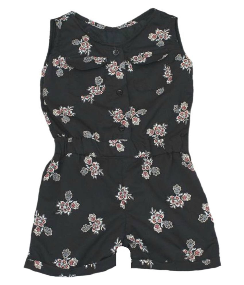 krivi kids Black  Color Georgette  Body Suit For Baby Boy's & Baby Girl's .