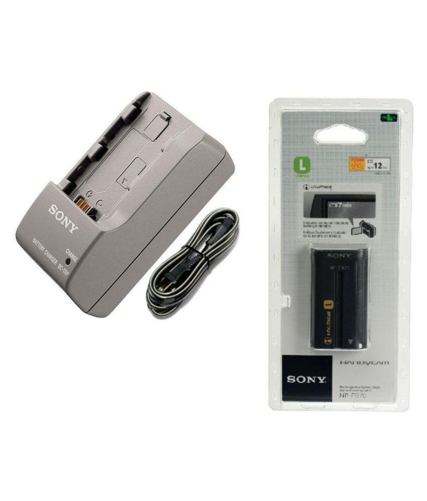 Sony NP F970 Camera Battery Charger