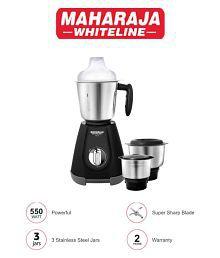 Maharaja Whiteline 1..2..3 550 Watt 3 Jar Mixer Grinder