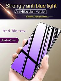 Vivo Y53 Full Glue Tempered Glass Screen Guard By Mobilive Anti Blueray Eye