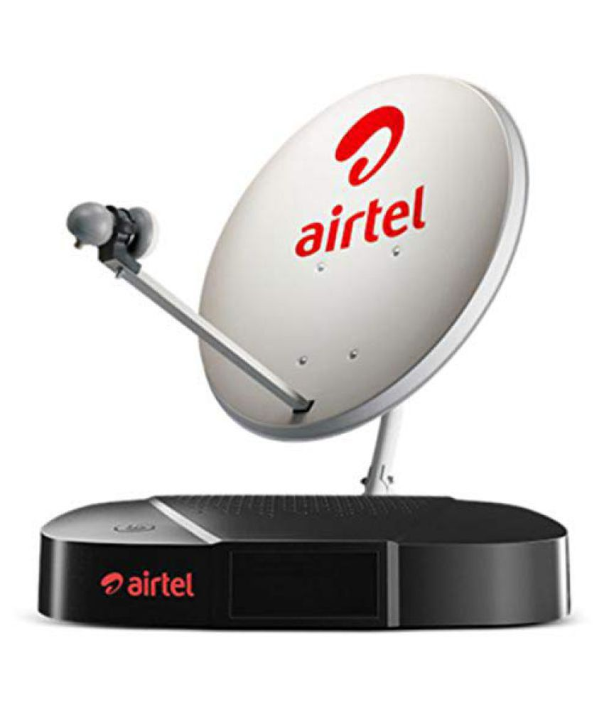 Airtel Digital TV HD Airtel Family HD with 1 month Subscription Free