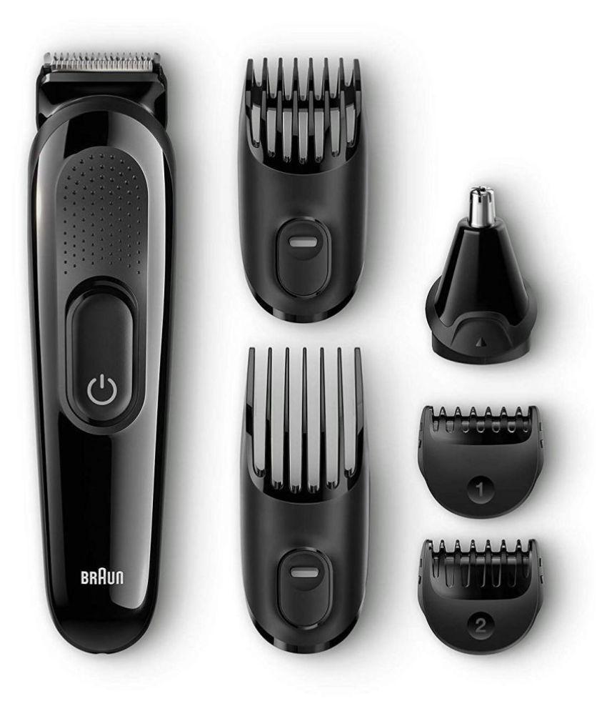 Braun MGK 3020 Beard Trimmer   Black