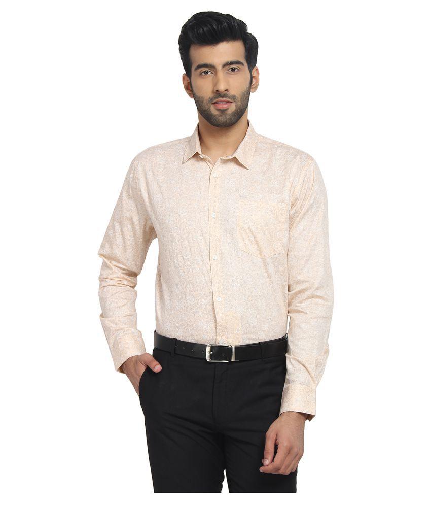 Cape Canary 100 Percent Cotton Pink Prints Shirt