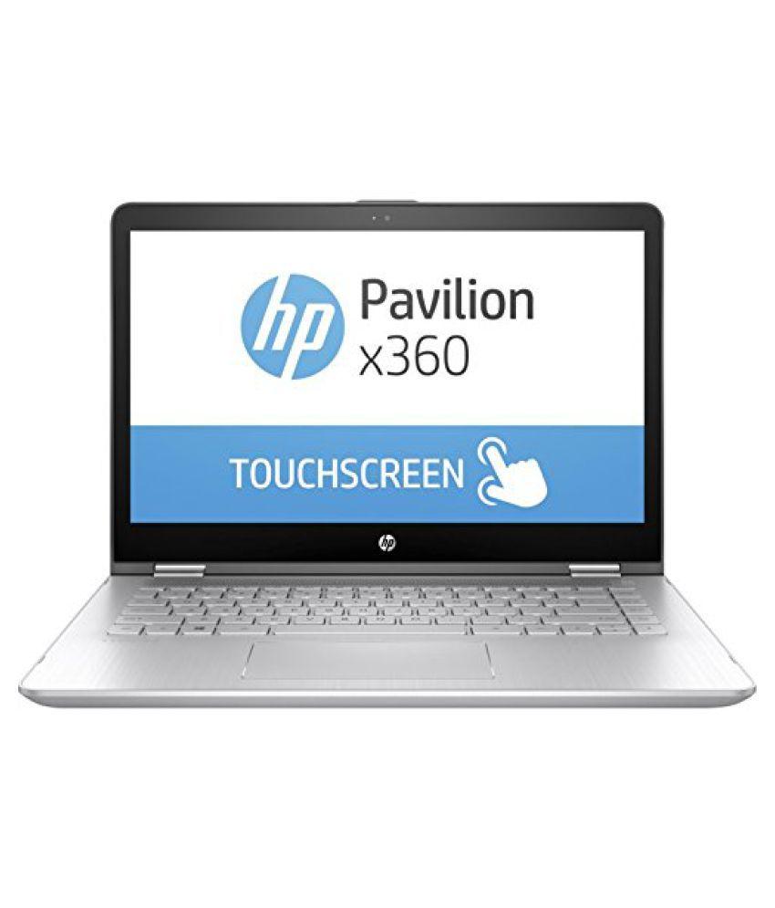 HP Pavilion x360 (Core i3 - 7th Gen/4GB/ 1 TB / 35.56 cm (14 Inch) FHD/Windows 10/ 2 GB MX130 Gfx)14-ba151tx Thin & Light Convertible Laptop (Mineral Silver, 1.68 Kg)