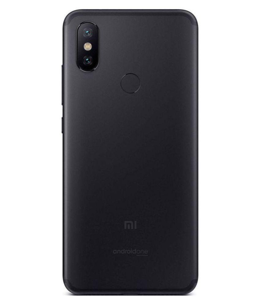 MI A2 (4GB RAM) ( 64GB , 4 GB ) Black