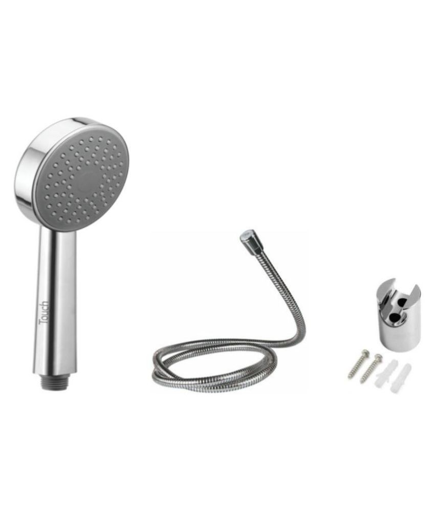 Touch Heavy Hand Telephonic Complete Set Brass Hand Shower