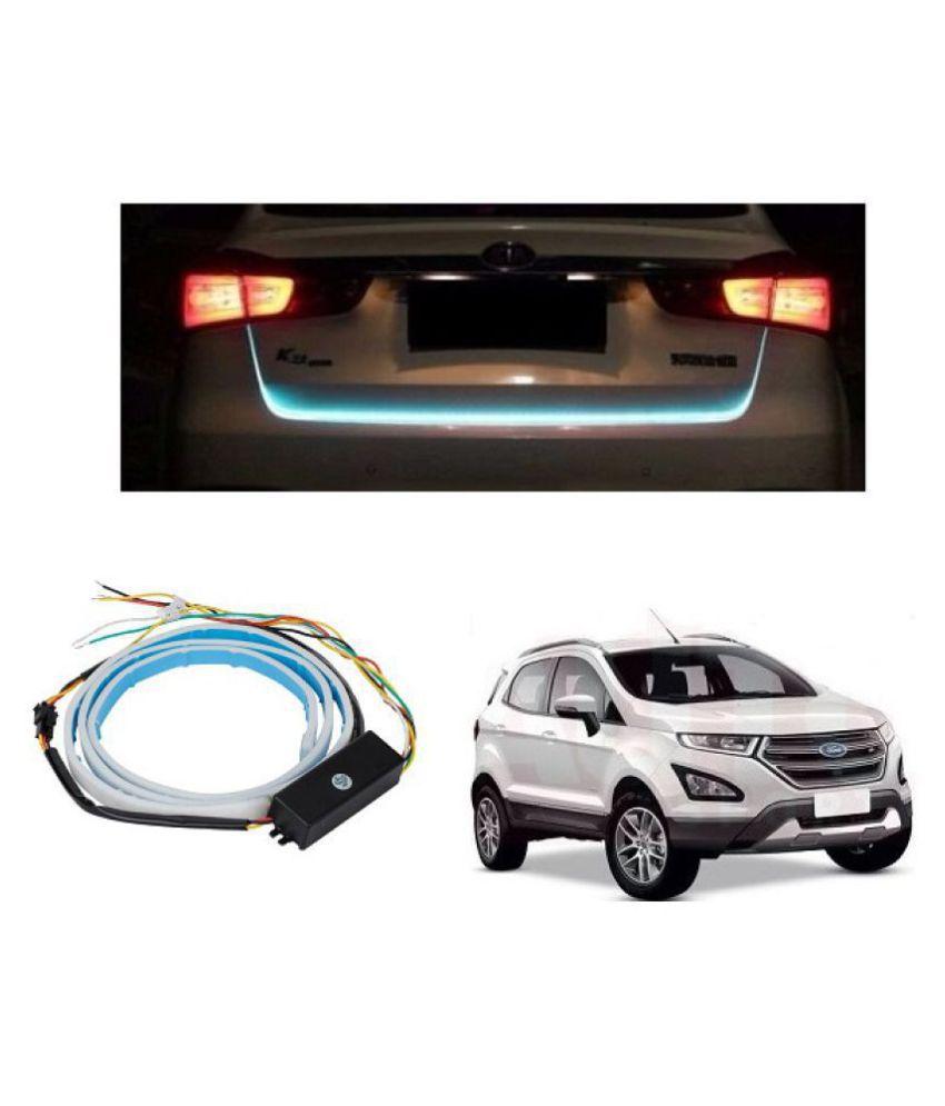 Trigcars Ford Ecosport Car Tailgate LED Strip Light