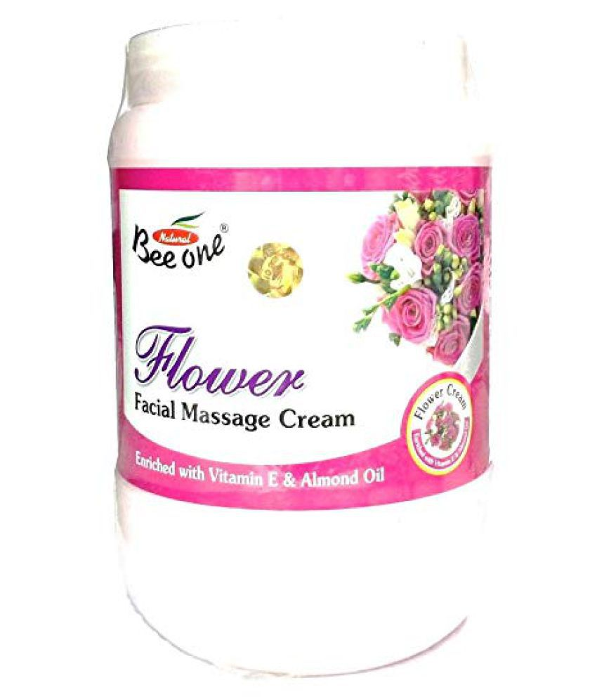 Beeone Flowers Facial Massage Moisturizer 900 gm