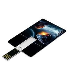 SmartNxt Credit Card Shape Designer 16GB Pen Drive -Movies - Aliens