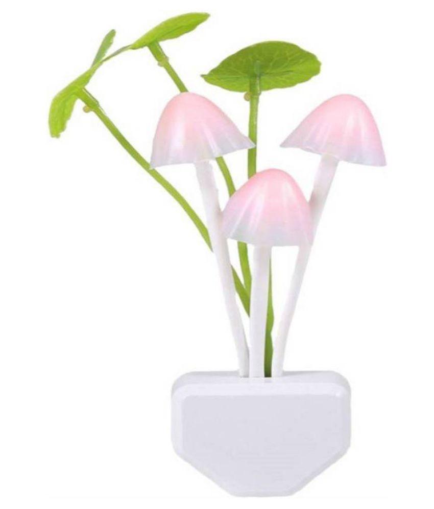 starvis Mushroom Shape Automatic Sensor Light  Night Lamp Multi - Pack of 1