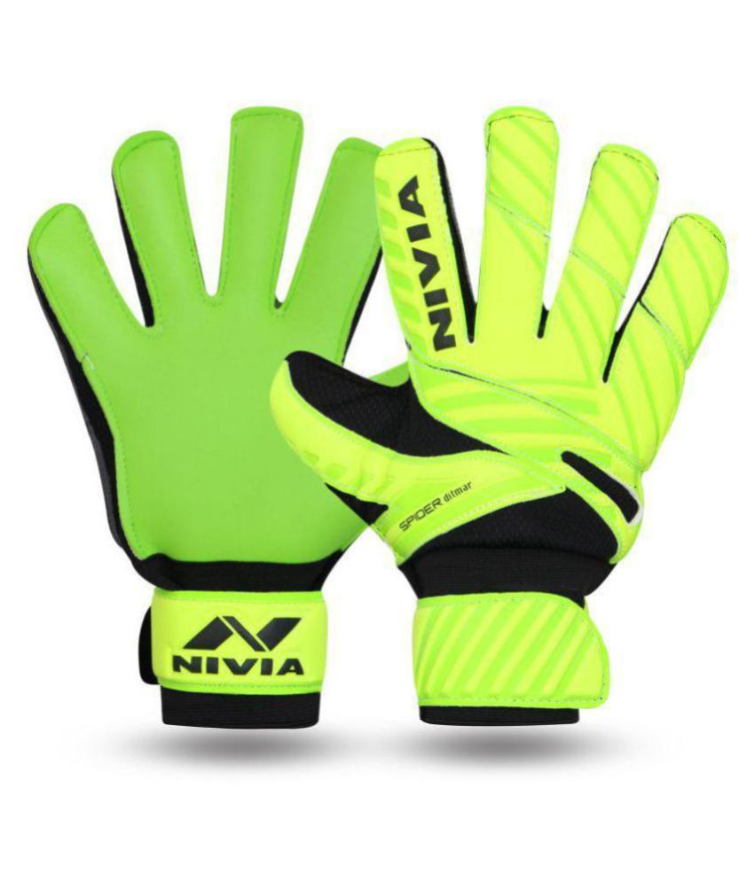 Nivia Ditmar Spider GoalKeeper Gloves Size  M