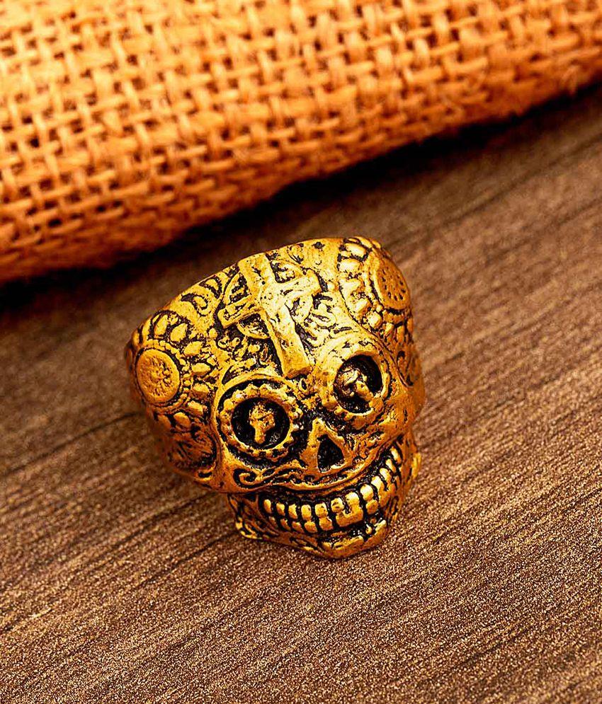 Dare by Voylla Devil Collection Satan Head Ring