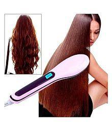 ojas bluetech plus ST0012 Hair Straightener ( pink )