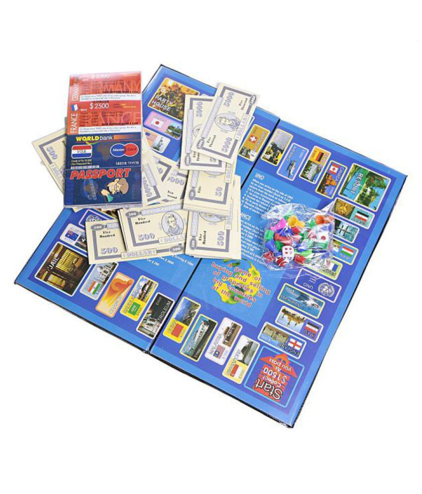International Business Board Game for Kids & Family - Buy