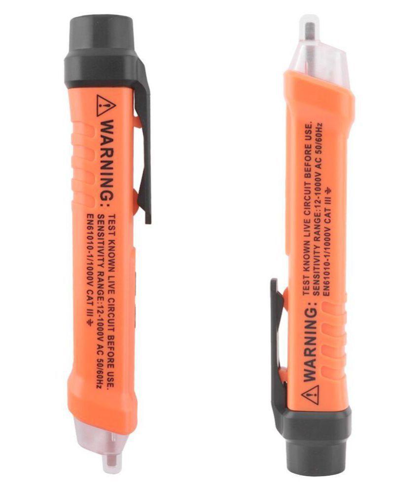 With 3 Voltage Levels Sensitivity 12-1000V VD919 AC Voltage Detector Non  Contact AC Voltage Alert Tester Pen 50-60hz 12v-1000v Electric Socket Wall  AC
