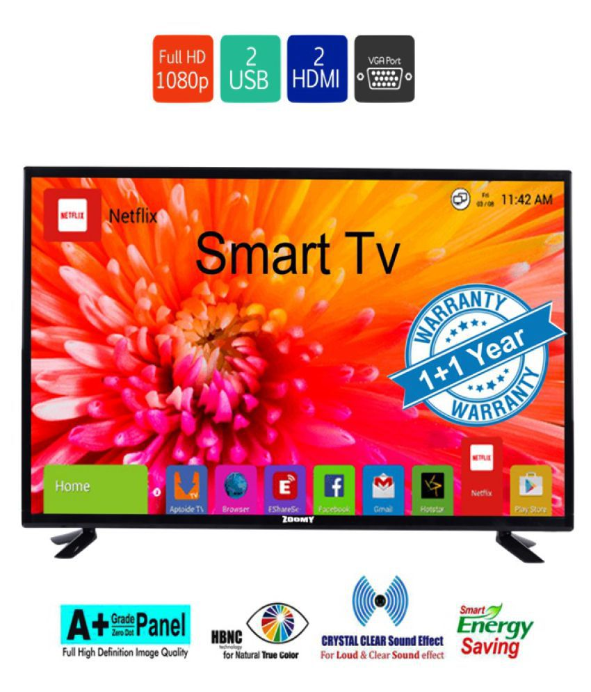 zoomy ZO40SMART 102 cm ( 40 ) Full HD (FHD) LED Television