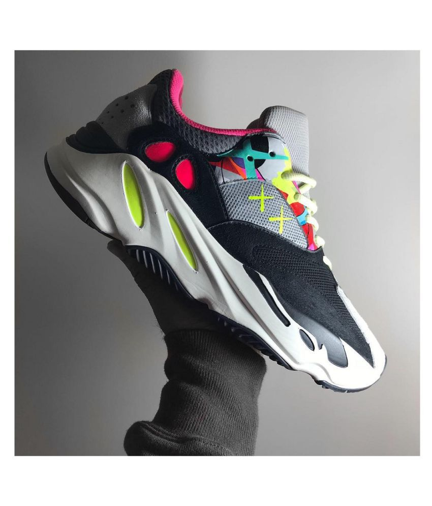 Adidas Yeezy Boost Yeezy Boost 700 Kaws Running Shoes Multi Color