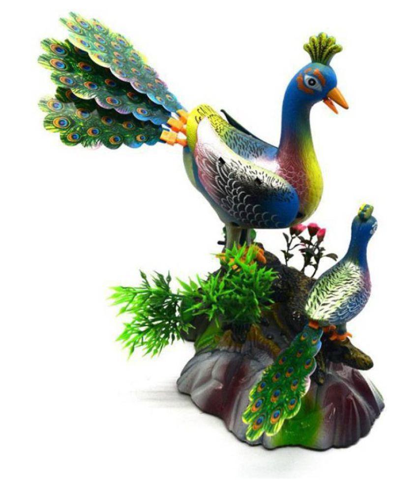 CrazyBuy Electric Sound Control Peacock Toys