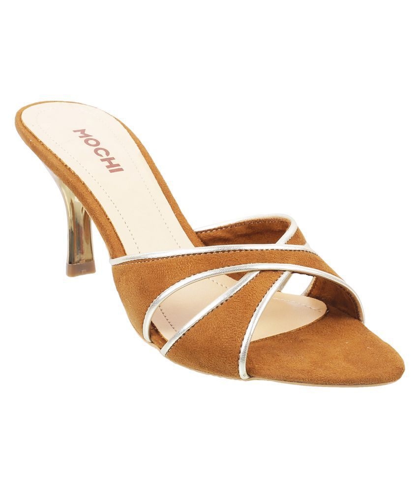 Mochi TAN Stiletto Heels