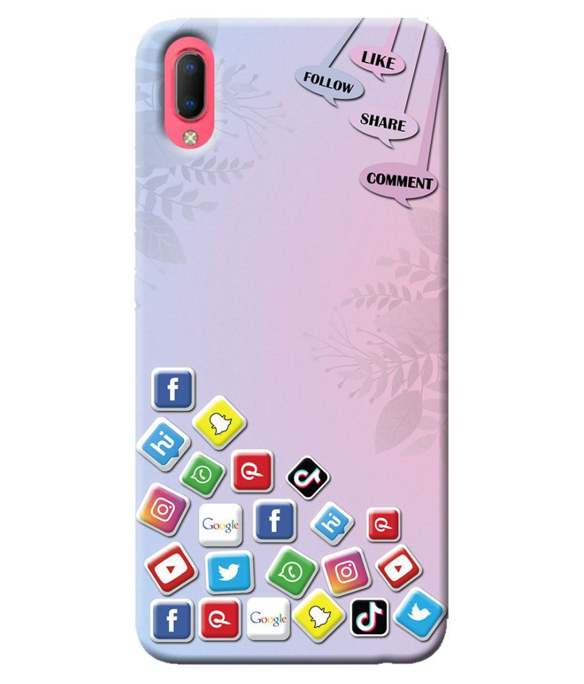 Vivo Y93s Printed Cover By Frogbull Exclusive Digital Designer Premium Soft Back Cover