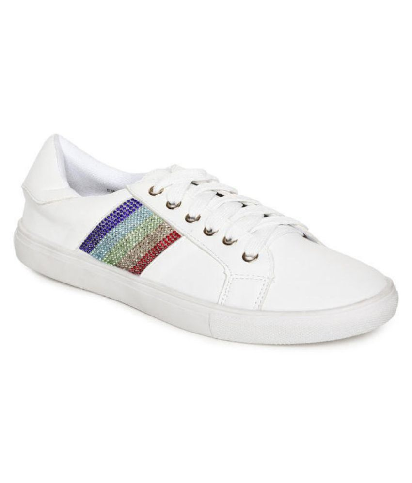 Addons White Casual Shoes