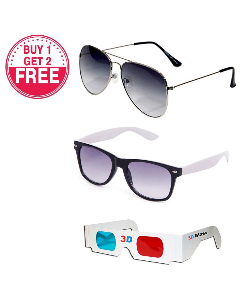 Talesara - Multicolor Pilot Sunglasses ( )