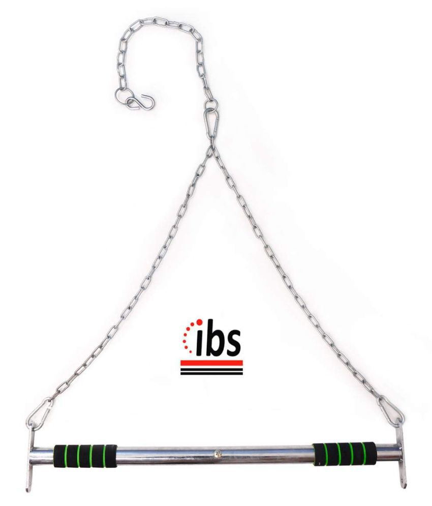 IBS Heavy Duty Door and Ceiling Home Gym Bar Adjustable Pull Up Bars Chin Up Bar Sport Fitness Equipment