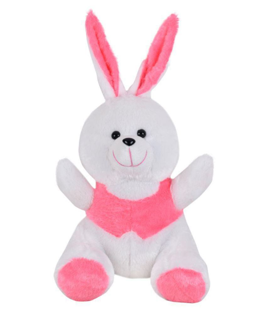 Ultra Cheerful Soft Toy Bunny 11 Inches Pink