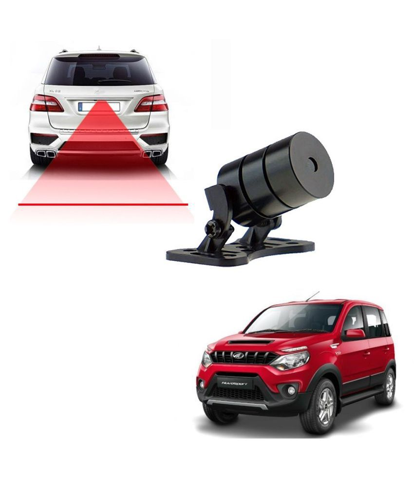 Auto Addict Car Styling Anti Collision Safety Line Led Laser Fog Lamp,Brake Lamp,Running Tail Light-12V Cars For Mahindra NuvoSport