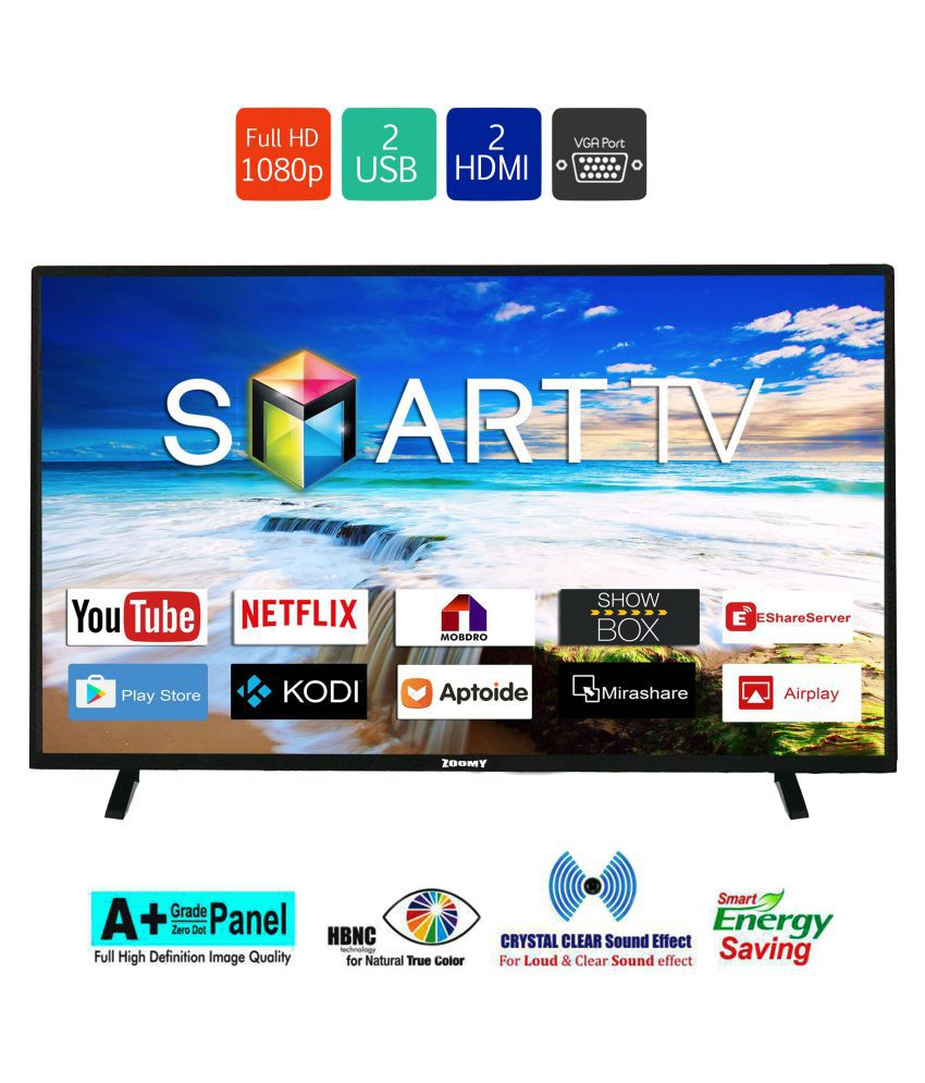 ZOOMY ZO32SMART 80 cm ( 32 ) Smart Full HD (FHD) LED Television
