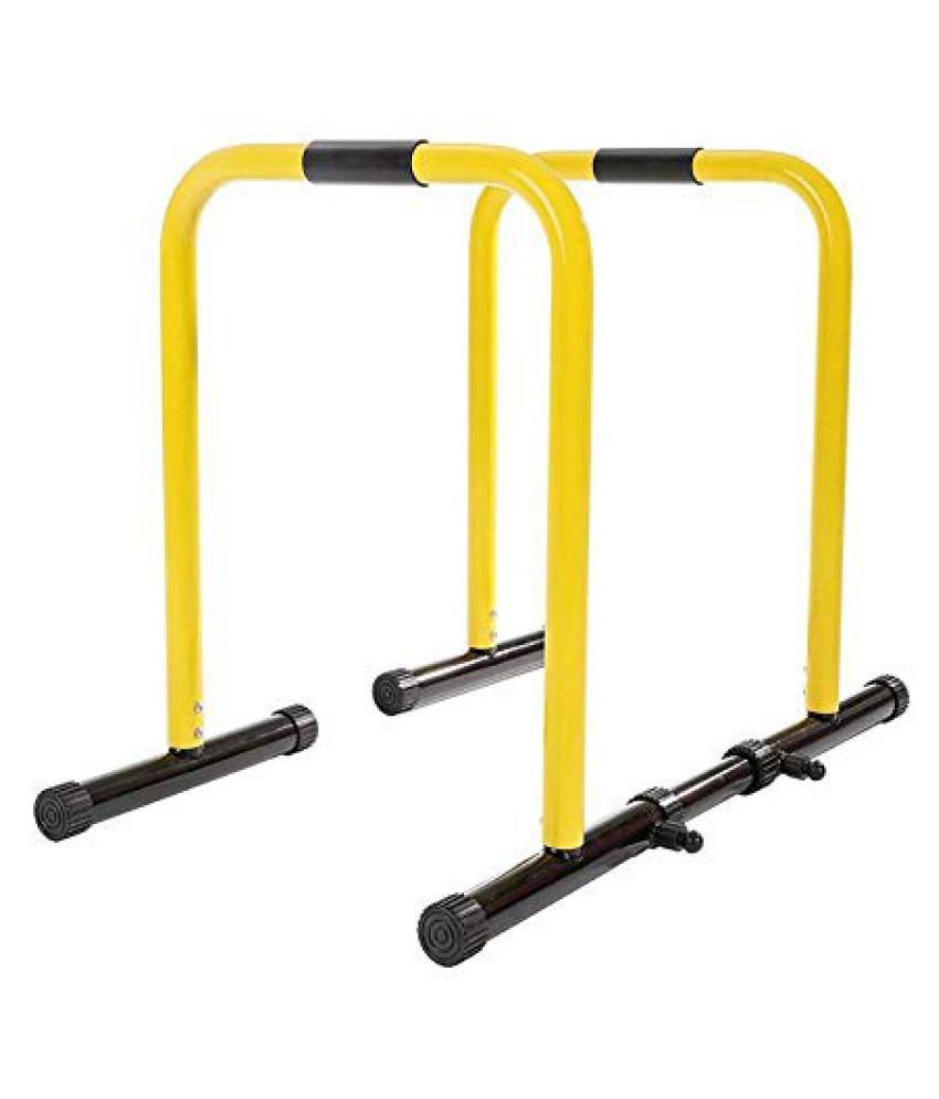 IBS Functional Exercise Station Stabilizer dip stand station with  stabilizing challenger bars is perfect for full body exercises such as  dips, push