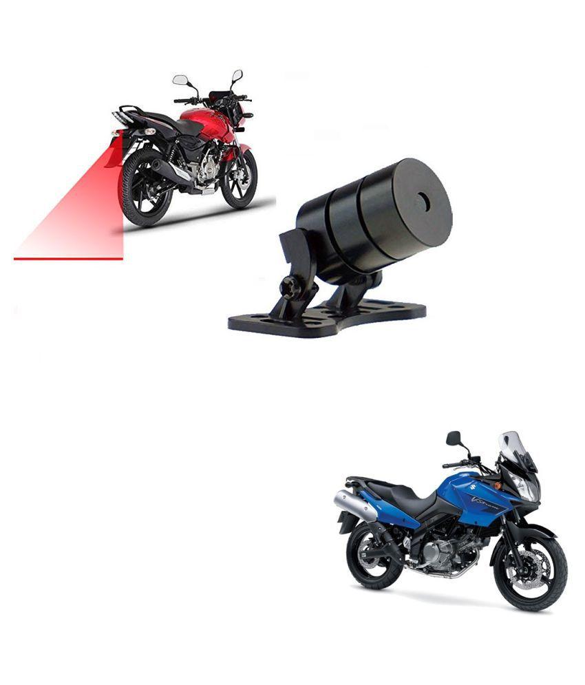 Auto Addict Bike Styling Led Laser Safety Warning Lights Fog Lamp,Brake Lamp,Running Tail Light-12V For Suzuki Vstrome