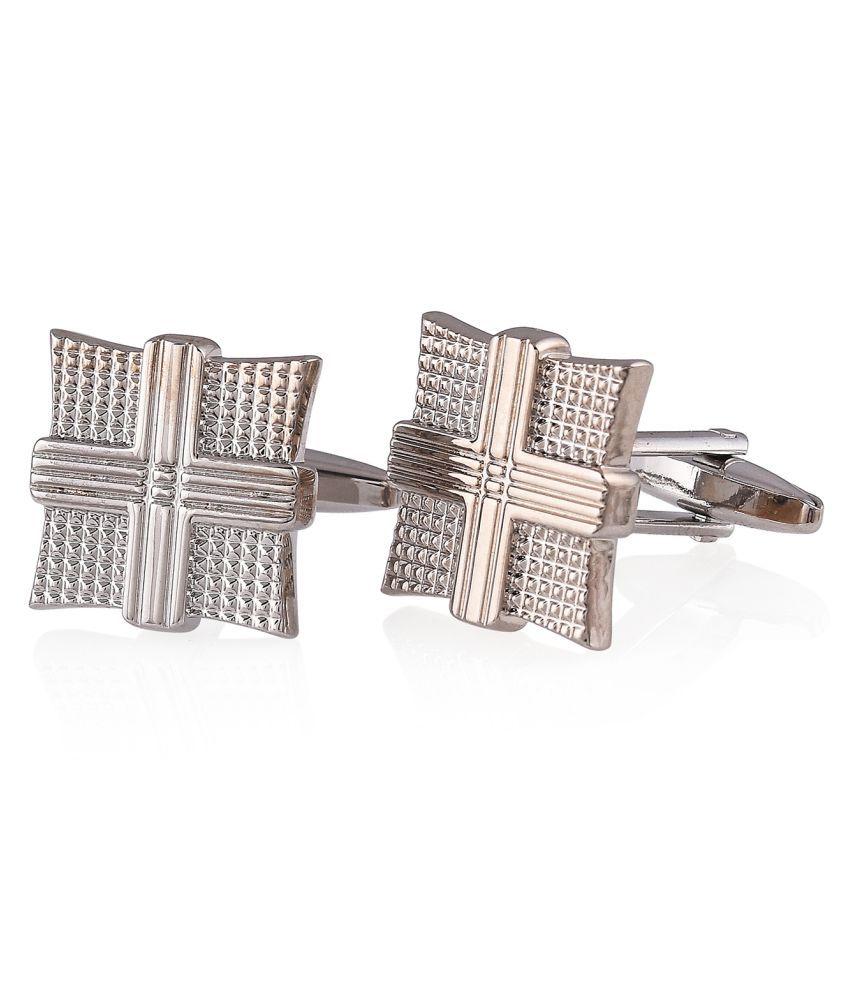 Tistabene Silver Alloy Cufflinks