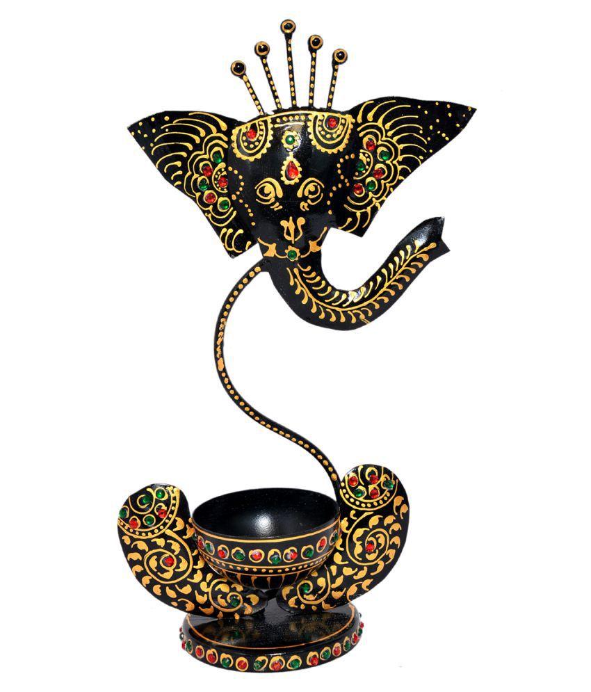 Jaipur Handicrafts Table Top Iron Tea Light Holder - Pack of 1