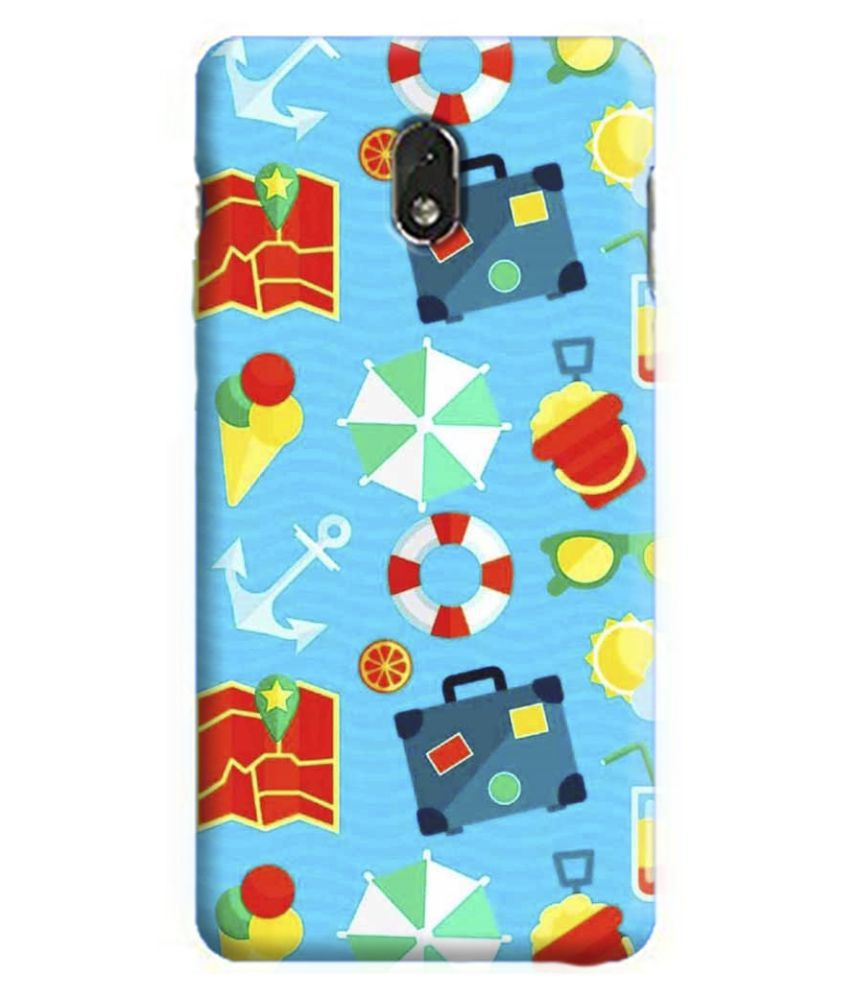 Samsung Galaxy J7 Pro Printed Cover By PrintVisa