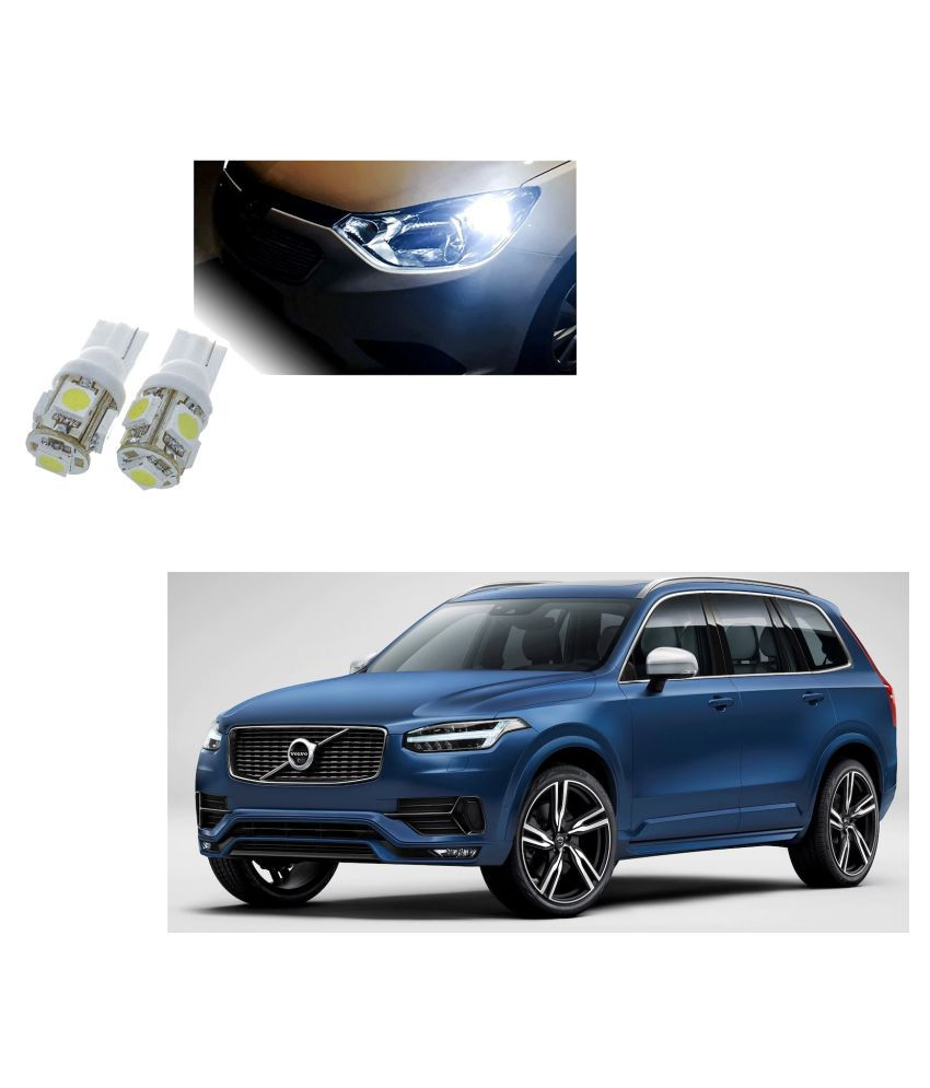 Auto Addict Car T10 5 SMD Headlight LED Bulb for Headlights,Parking Light,Number Plate Light,Indicator Light For Volvo XC90