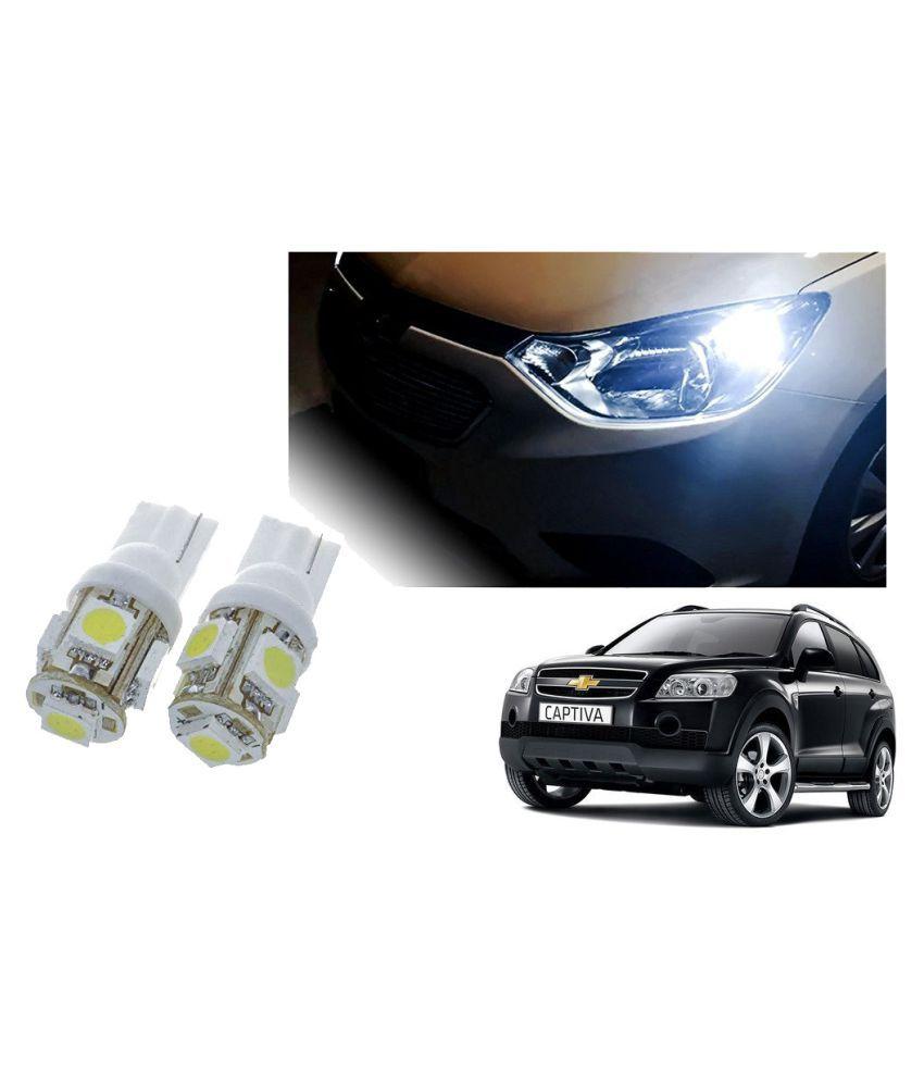 Auto Addict Car T10 5 SMD Headlight LED Bulb for Headlights,Parking Light,Number Plate Light,Indicator Light For Chevrolet Captiva