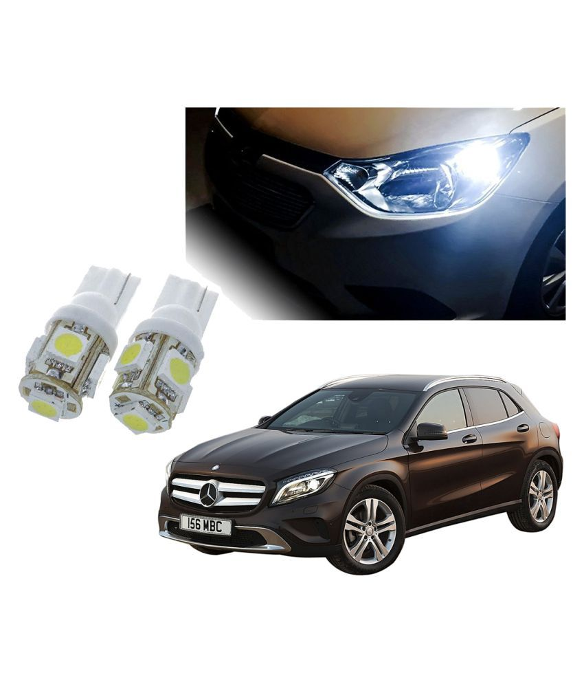 Auto Addict Car T10 5 SMD Headlight LED Bulb for Headlights,Parking Light,Number Plate Light,Indicator Light For Mercedes Benz GLA-Class