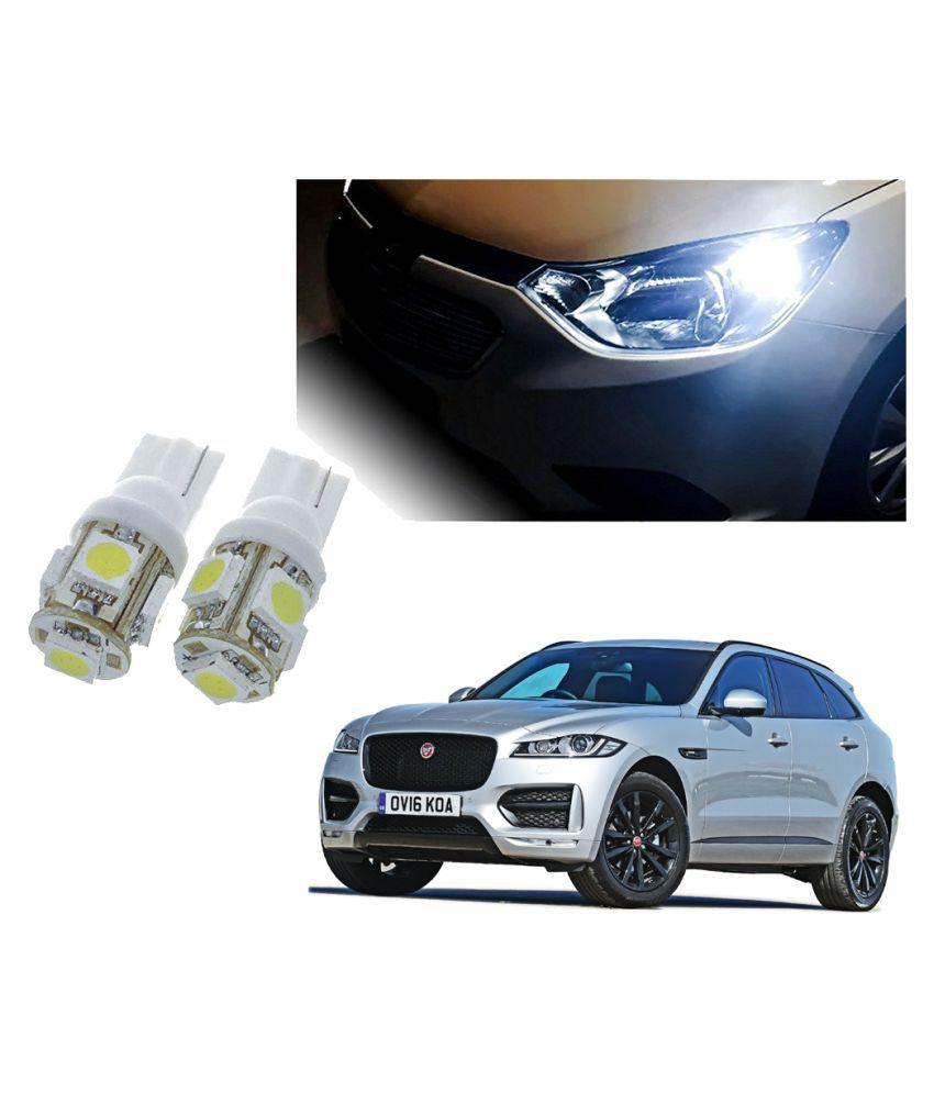 Auto Addict Car T10 5 SMD Headlight LED Bulb for Headlights,Parking Light,Number Plate Light,Indicator Light For Jaguar F-Pace