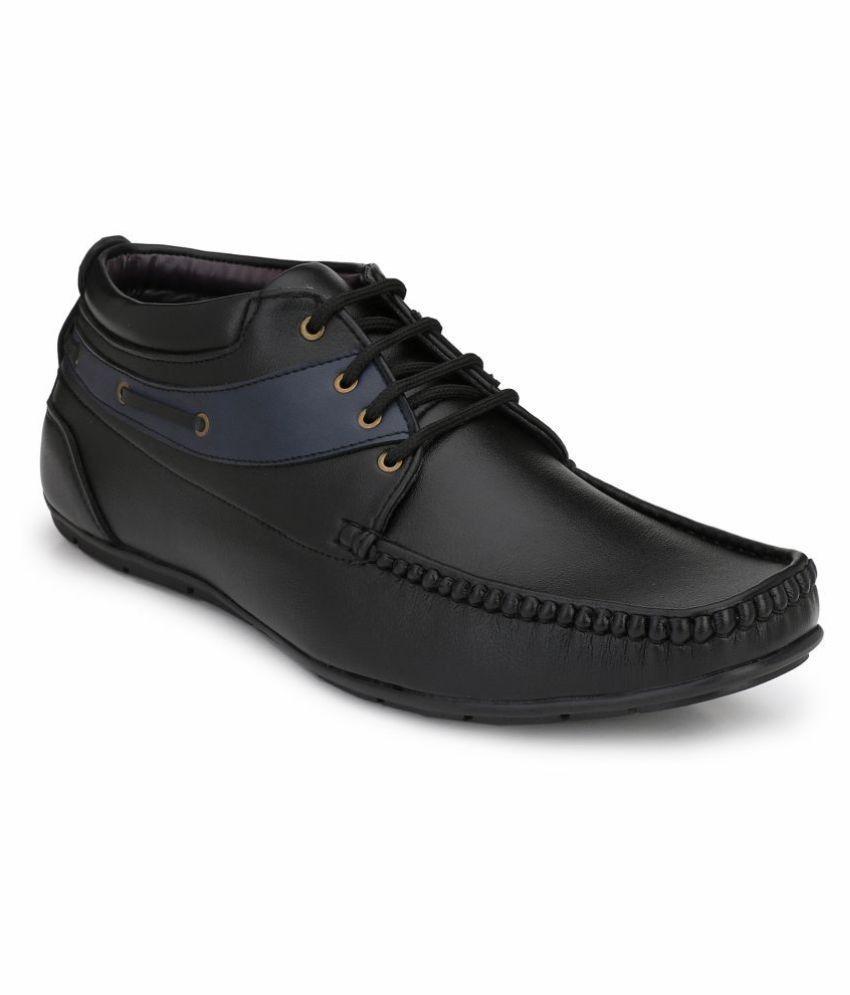 Fentacia Black Casual Shoes