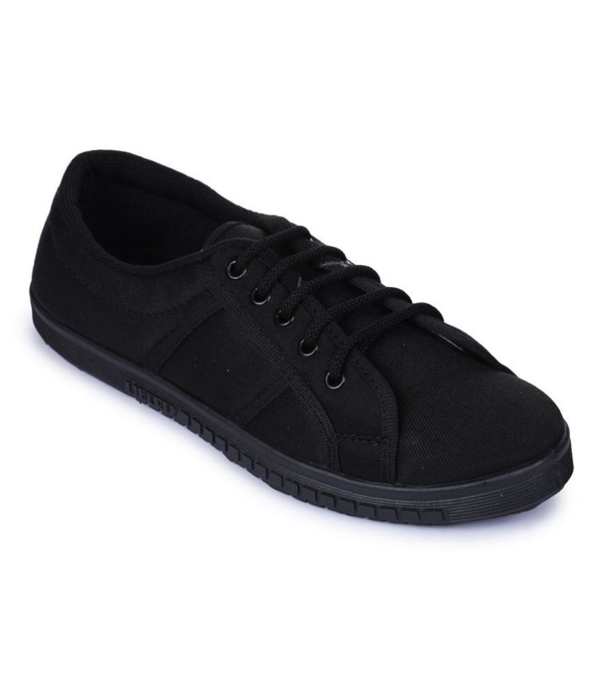 Gliders By Liberty Lifestyle Black Casual Shoes