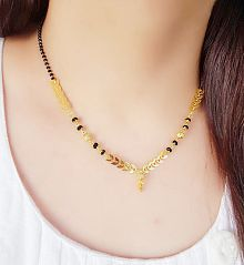 b6139dfb8b2e5 Mangalsutras Upto 85% OFF: Buy Gold Plated Mangalsutras Online ...