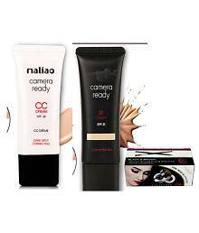 Maliao CC Camera Ready& BB Cream With Gel Eye Liner 40 gm
