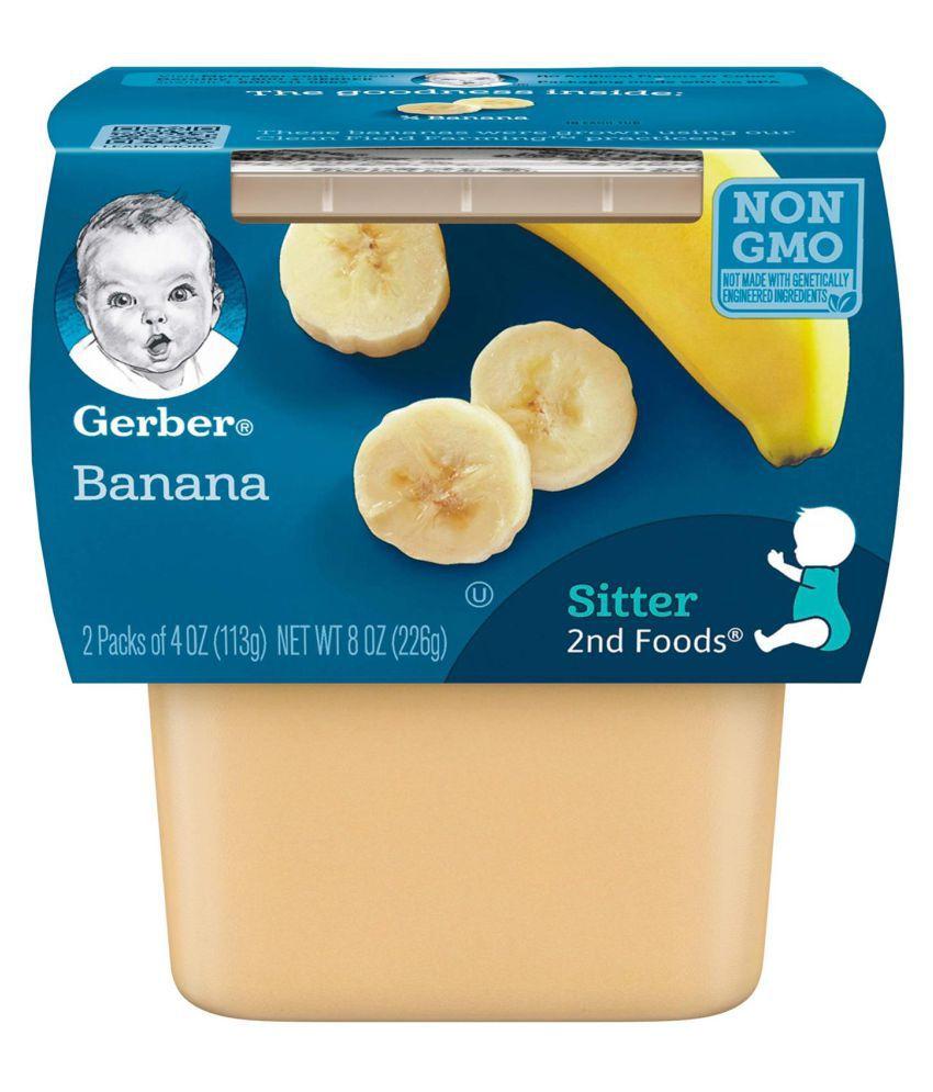 Gerber Bananas Snack Foods for 6 Months + ( 226 gm )