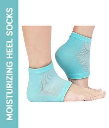 Kozycare Ankle Support Silicon Moisturising Heel Support 1 Pair Free Size