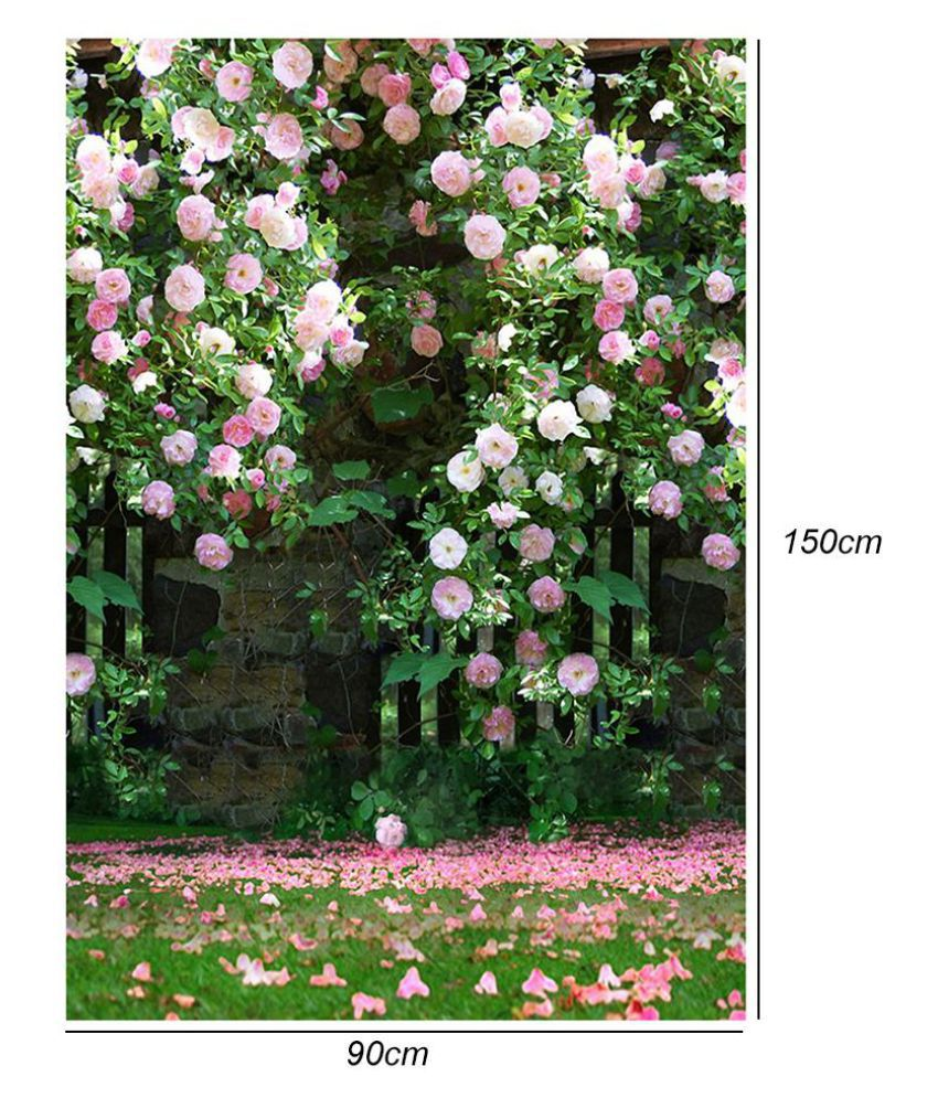 Flower Digital Photography Background Cloth Wedding Photo Backdrops Decor Buy Flower Digital Photography Background Cloth Wedding Photo Backdrops Decor At Best Price In India On Snapdeal