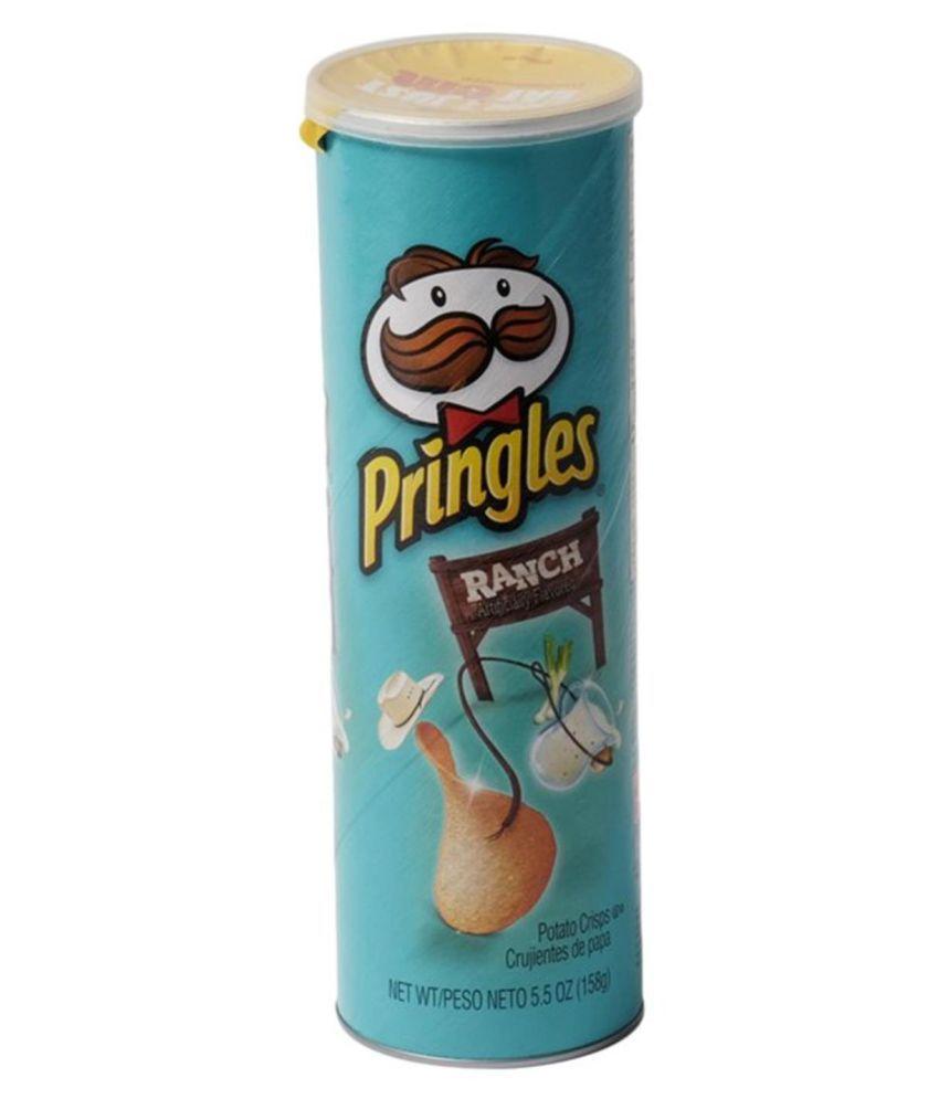 Pringle's Ranch Potato Chips 158 g