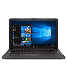 HP 15 Intel Pentium Gold 4417u 15.6-Inch HD Laptop (4GB/1TB/Win10/No DVD/Jet Black/1.91 kg), 15-DA0389TU