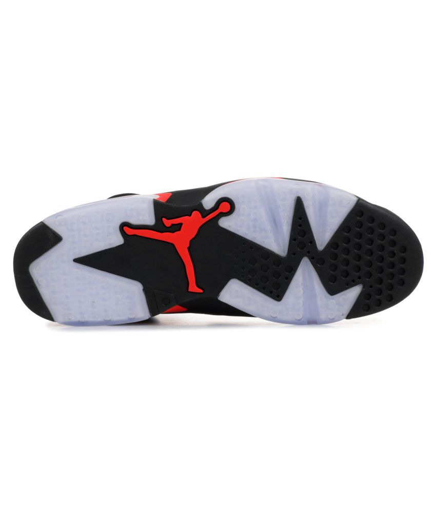 plus de photos e7931 c6ed7 Nike JORDAN 6 INFRARED Black Basketball Shoes